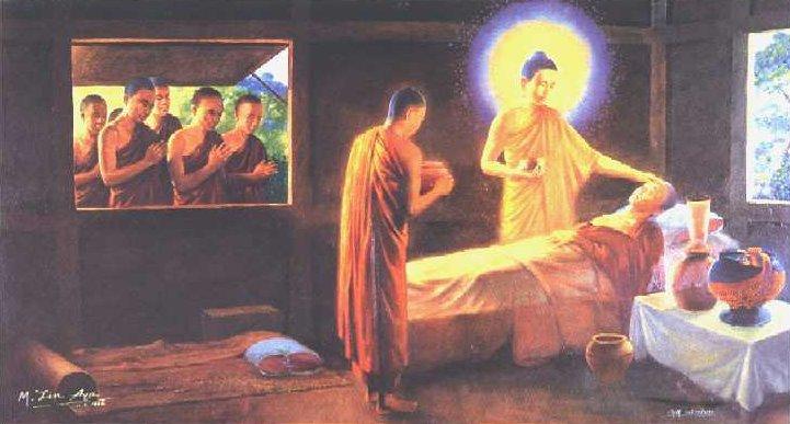 Bouddha soignant