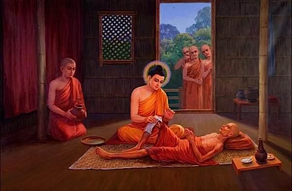 Buddha soigne